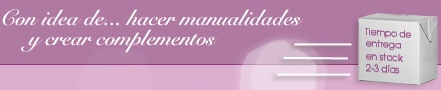www.conideade.com - Con idea de hacer manualidades y complementos de mujer