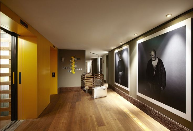 GIANT PRINT. Hotel HafenCity Interior by Stephen Williams Associates