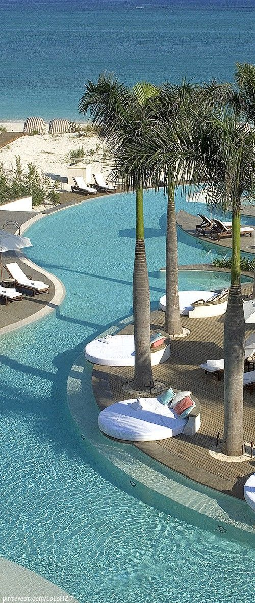 //The Regent Palms Hotel ~ Turks & Caicos, in the Caribbean Sea #travel #places #photography