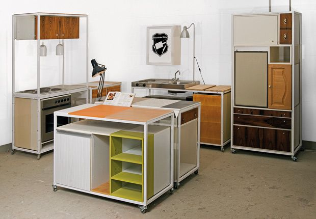 "Re-Use-Kitchen ""Ehrenfelder Küche"", Oliver Schübe and Sven Stornebel, 2011"