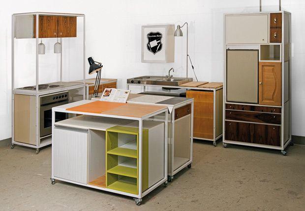 """Re-Use-Kitchen """"Ehrenfelder Küche"""", Oliver Schübe and Sven Stornebel, 2011"""