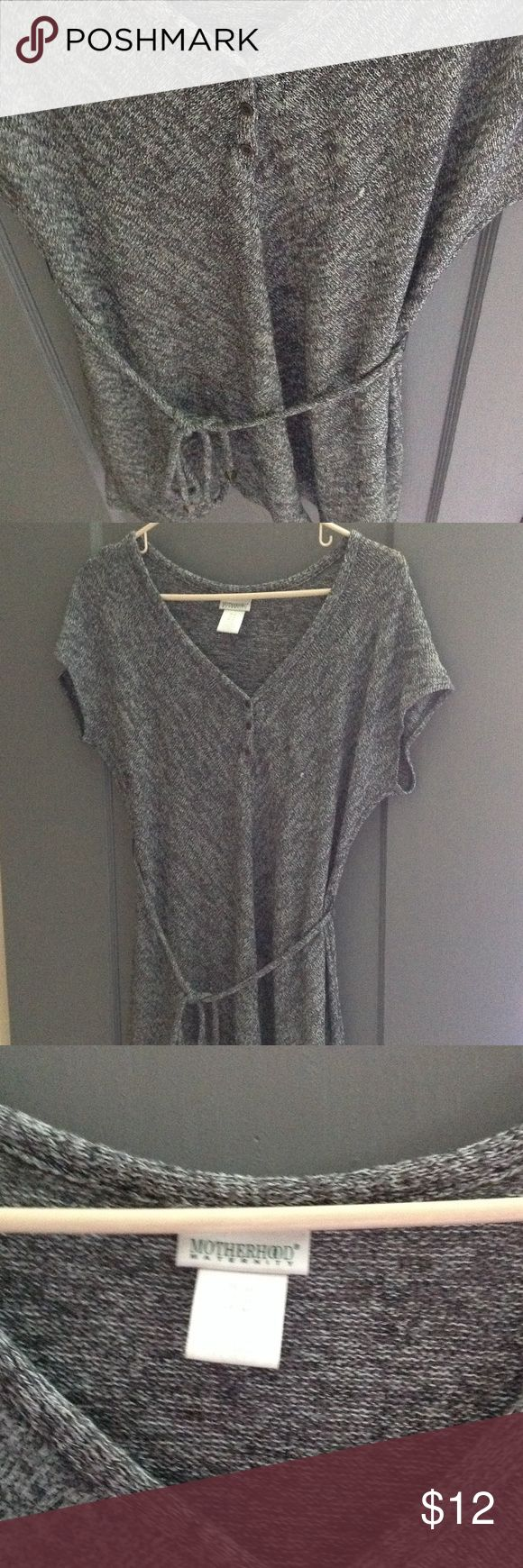 Grey maternity dress Super cute dress good for maternity women or not. Length goes to about the knees. Motherhood Dresses Midi