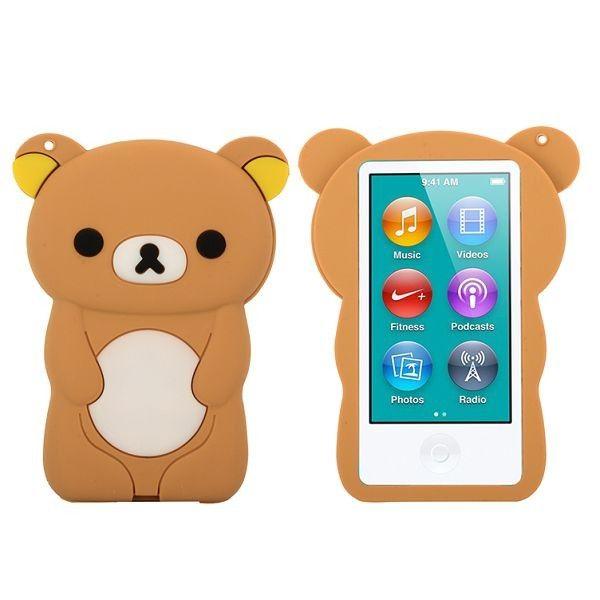 Happy Bear (Brun) iPod Nano 7 Deksler