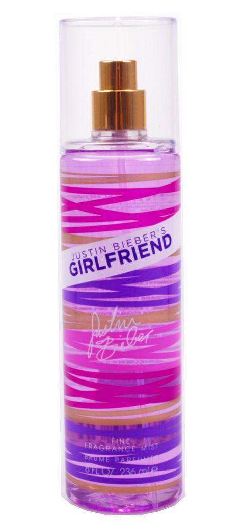 Justin Biebers Girlfriend Fine Fragrance Mist 236ml Spray - Women's For Her.