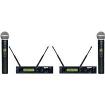 Shure ULXP24D/58 Dual Handheld Wireless System, M1