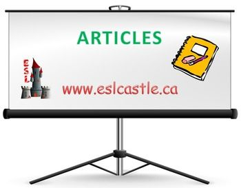 Here is a PowerPoint presentation to teach articles. Want more course notes PowerPoint presentations? Visit www.eslcastle.ca or visit ESL Castle TpT Store!