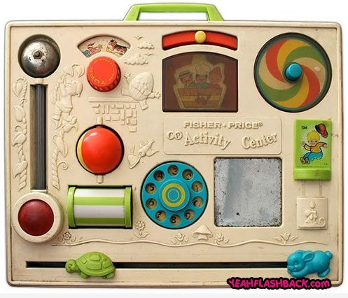 Fisher Price activity center!  Classic!---I have one of these from childhood that all my babies have played with
