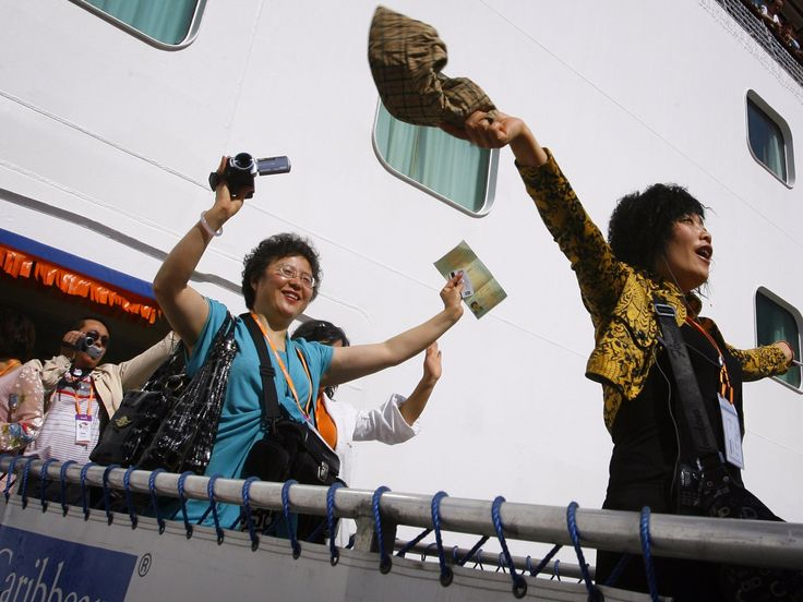 China's Golden Week has started and that means half the nation's 1.38 billion citizens are going on vacation