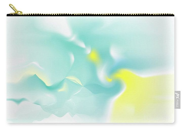 Deus Carry-all Pouch featuring the digital art Aven by Ron Labryzz