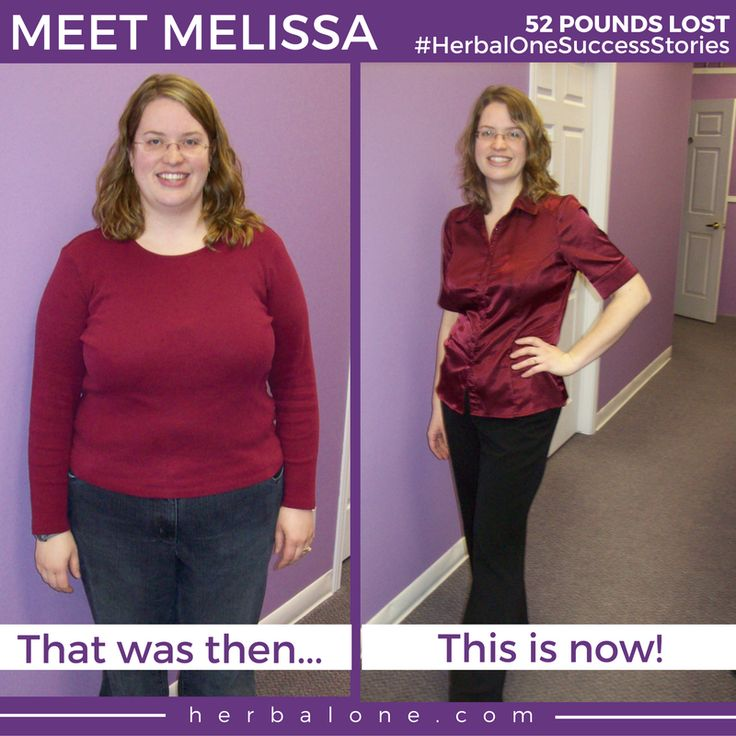 """Lose the weight and keep it off for good, like Melissa did.   Melissa was a client at Herbal One Stoney Creek and with their support she lost 52 pounds.   We're proud of you, Melissa. Well done! #HerbalOneSuccessStories   Read Melissa's testimonial below: """"The support I received from Herbal One was phenomenal. I could not have reached my goal without the help of Gloria, Tammy and Maureen. Their support each and every week helped keep me focused but most importantly, it helped me get back on…"""