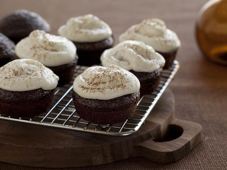 Chocolate Stout Cupcakes from FoodNetwork.com