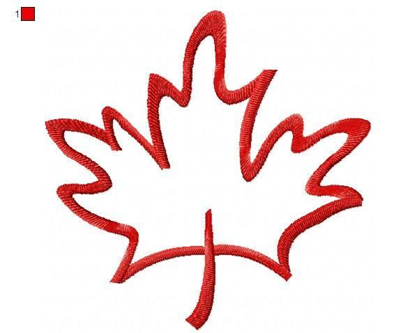 maple leaf drawing - Google Search
