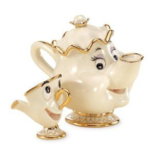 Lenox Disney Showcase Mrs. Potts & Chip - who even knew such a wonderful thing exists