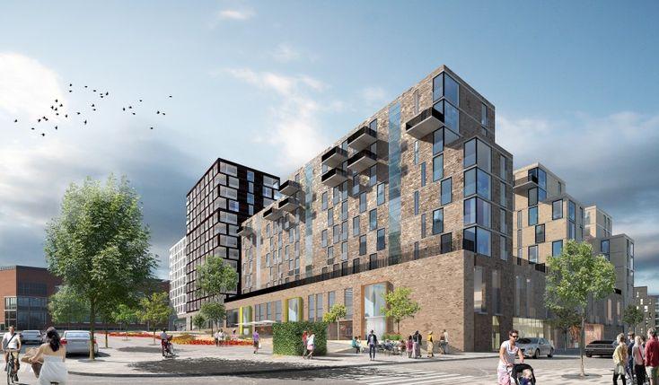 Kv Baltic - Housing in Stockholm. Scheiwiller Svensson Arkitektkontor www.ssark.se
