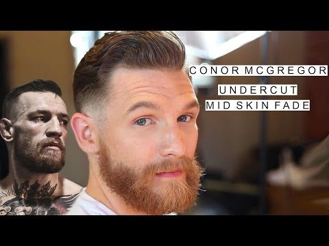 Conor McGregor Haircut | Undercut with a Mid Skin Fade | UFC Hairstyle - YouTube