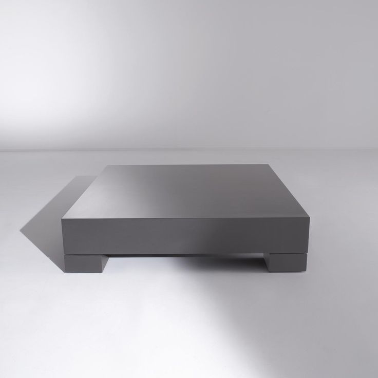 ML 07 Low, Square Table Made In All Sample Woods And Matte Brushed  Lacquering, Made To Measure By Leone U0026 Mazzari