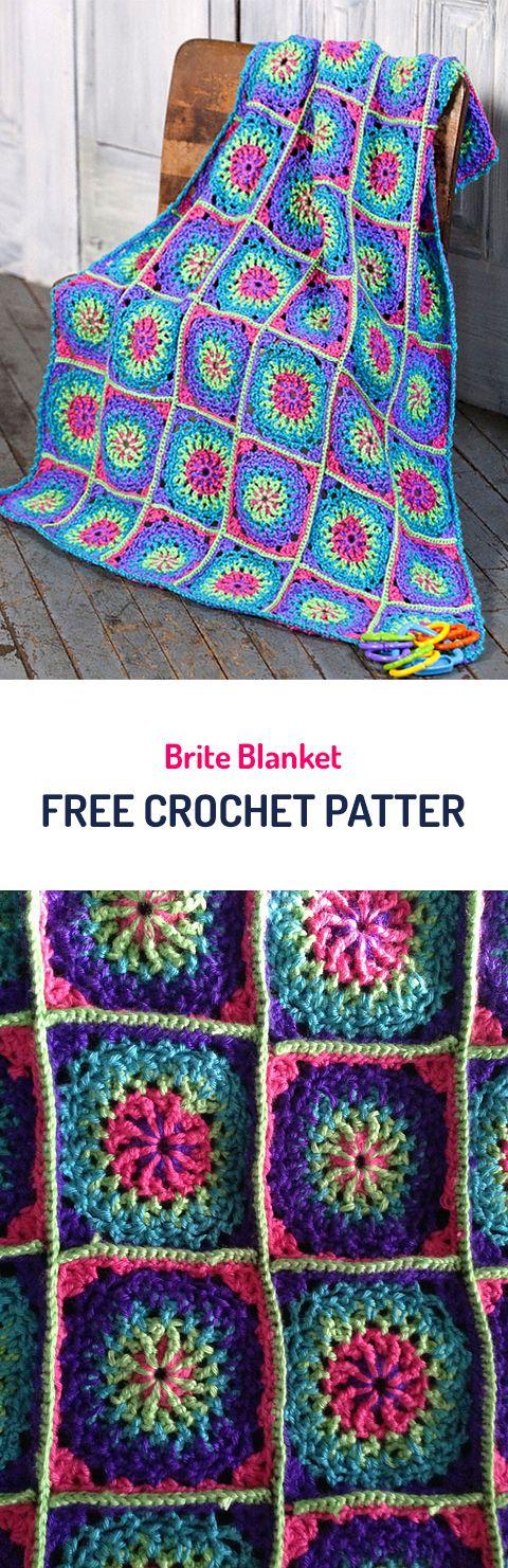 Brite Blanket Crochet Pattern