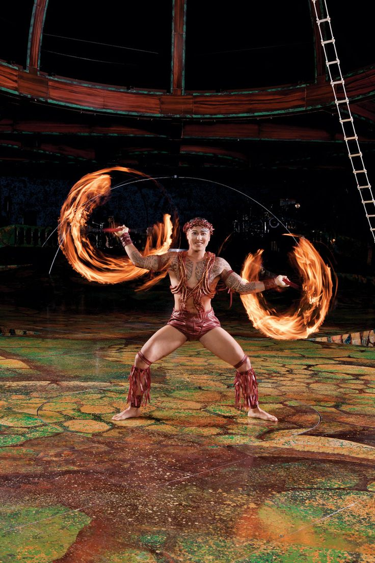Cirque Du Soleil: I don't know the show, sadly.