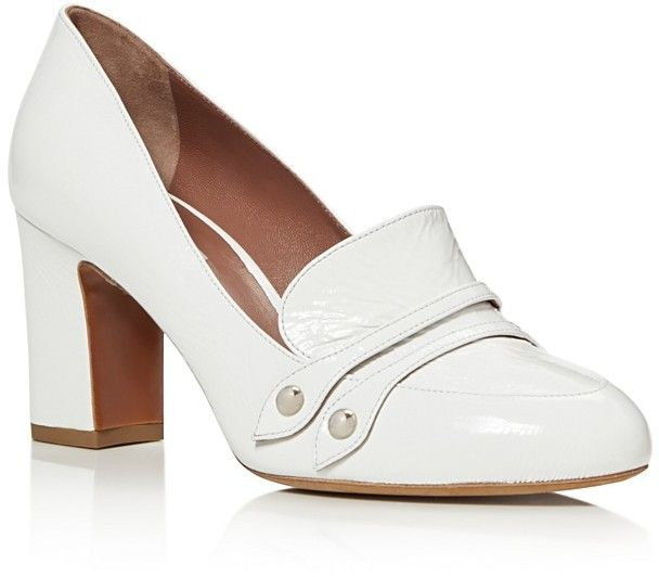 Tabitha Simmons Maxwell High Heel Loafer Pumps