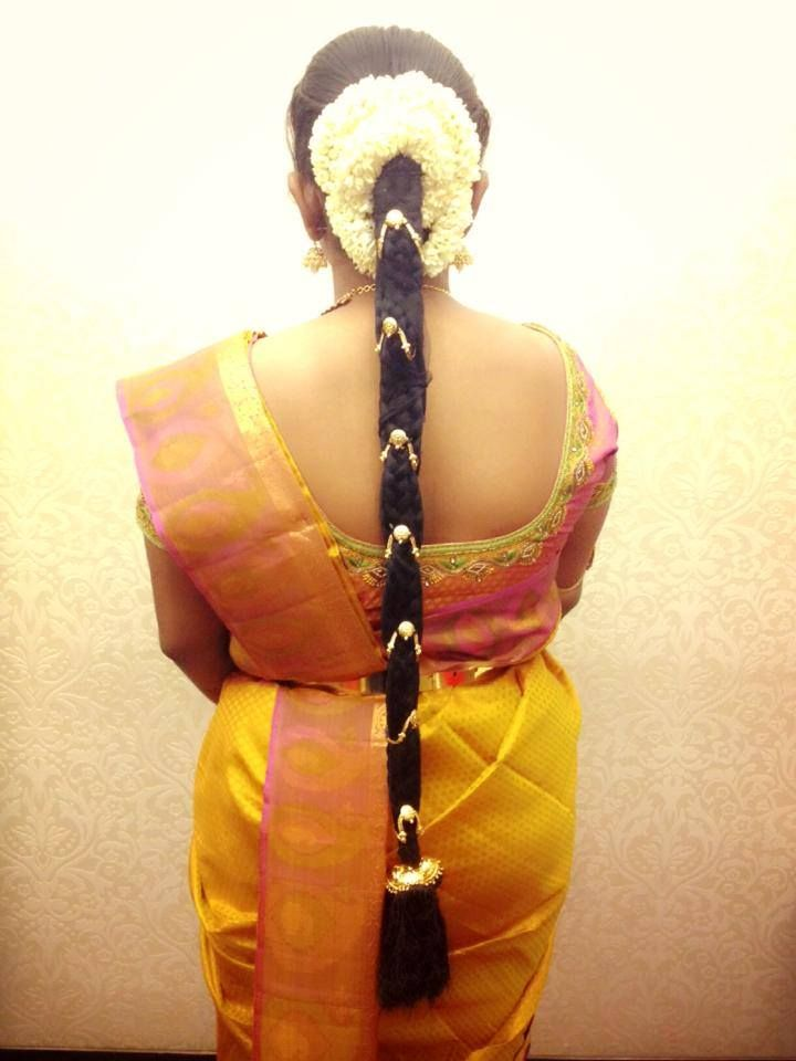 17 Best images about Hair Do on Pinterest | Indian bridal hairstyles ...