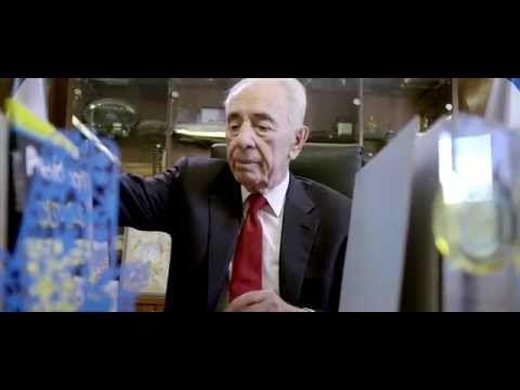 Former Israeli President Shimon Peres Goes Job Hunting שמעון פרס מחפש עבודה - YouTube