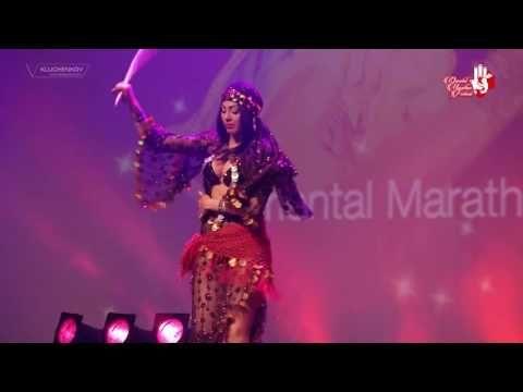 SAHAR SAMARA - saidi - Oriental Marathon festival 2016 France - YouTube