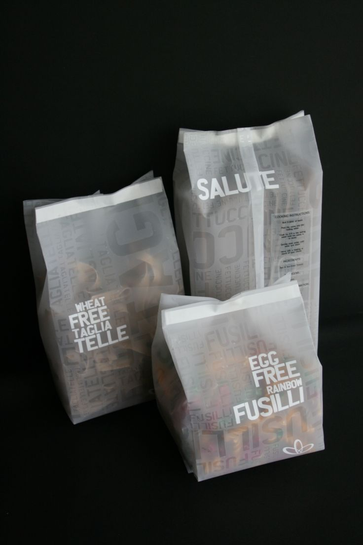 wellness warehouse pasta packaging