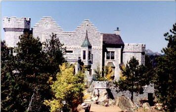 Lion & Rose Castle, Woodland Park, Colorado
