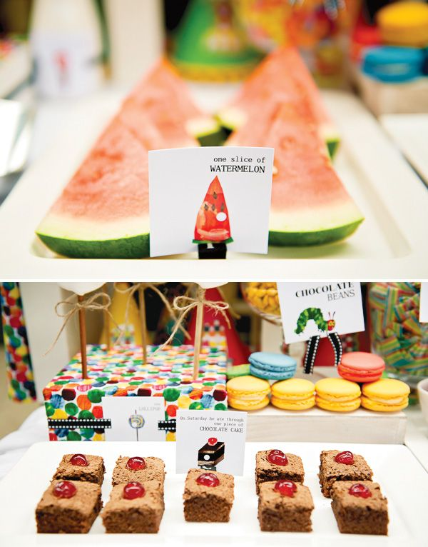 {AMAZING} Hungry Caterpillar Party // Hostess with the Mostess®