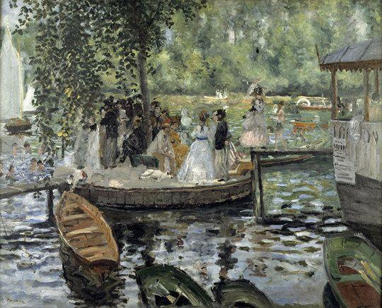 Renoir (1869, h/T) : La grenouillère