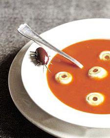 Eye Popping Soup. I think I'd use Ina Garten's Creamy Tom Basil soup ...