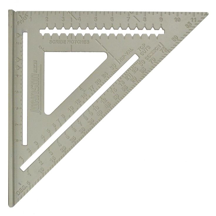 Johnson Rafter Angle Square Angle Square Square Tool Carpentry Projects
