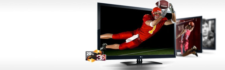 Discover LG 3D TVs and bring your entertainment experience to a whole new dimension. With 2D to 3D conversion, you can turn anything, from your blockbuster movies to regular TV shows, into a 3D experience, with results that are out of this world