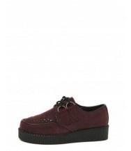 Rhea Burgundy Creeper Shoe