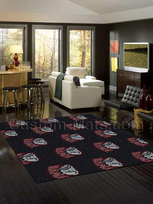Alabama Crimson Tide Home Repeat Rug | Custom-Mats.com