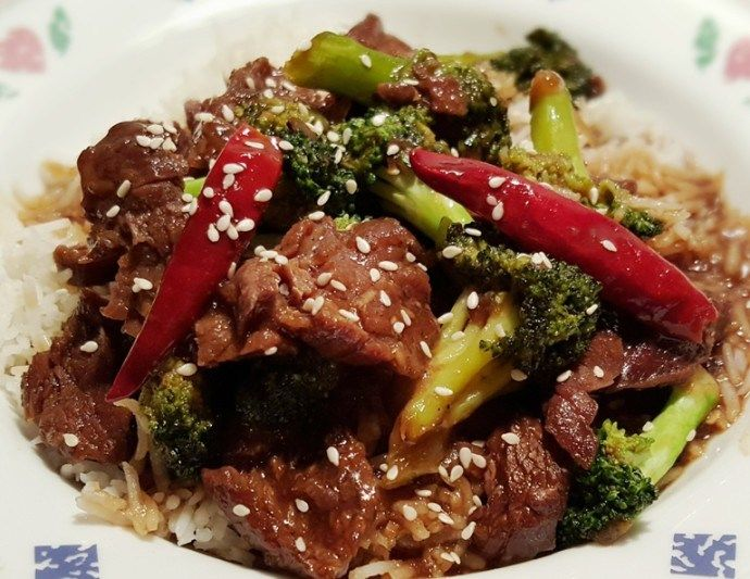Pressure Cooker Chinese Take-Out Beef and Broccoli ~ Jill Cooks