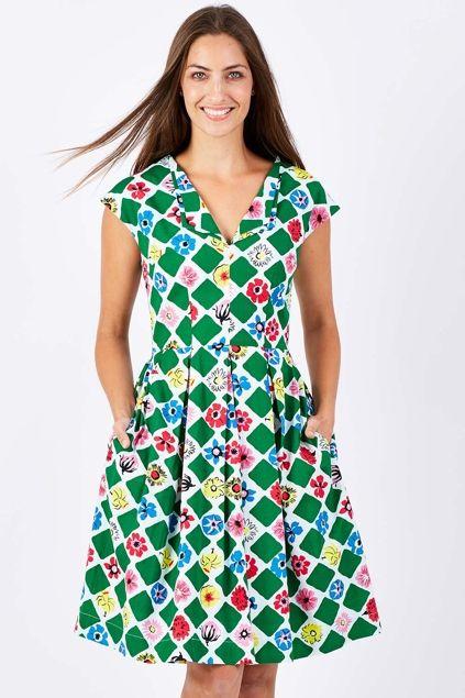 Emily and Fin Annie Dress - Womens Knee Length Dresses - Birdsnest Australia