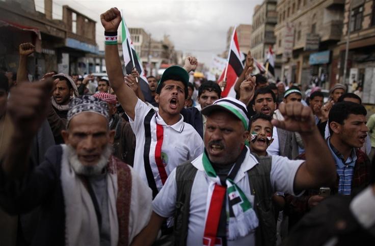 Demanding justice in Yemen - PhotoBlog