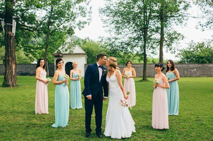 With  my gorgeous bridesmaid Photo by Borbáth Áron