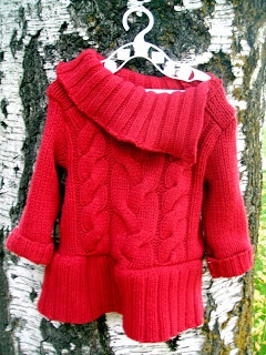 Nap Time Crafters: Sweater Dress Tutorial