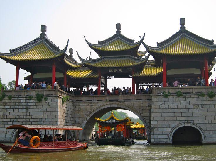 Yangzhou, Five Pavilion bridge