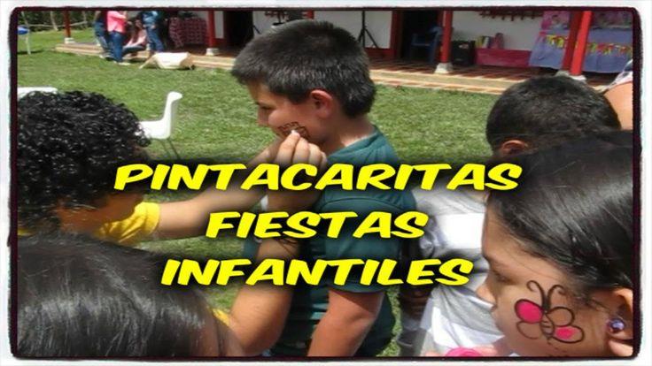 PINTACARITAS RECREACIONISTAS FIESTAS INFANTILES