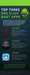 Best one click #rootapps for #Android [INFOGRAPHIC]
