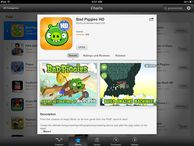 Angry Birds sequel Bad Piggies hogs top spot among iOS apps Just out today, the new game is already No. 1 among all paid iPhone and iPad apps.