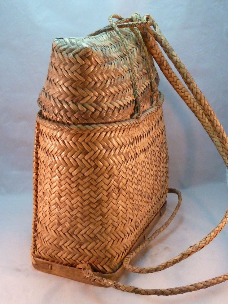 Wicker Basket Backpack : The world s catalog of ideas
