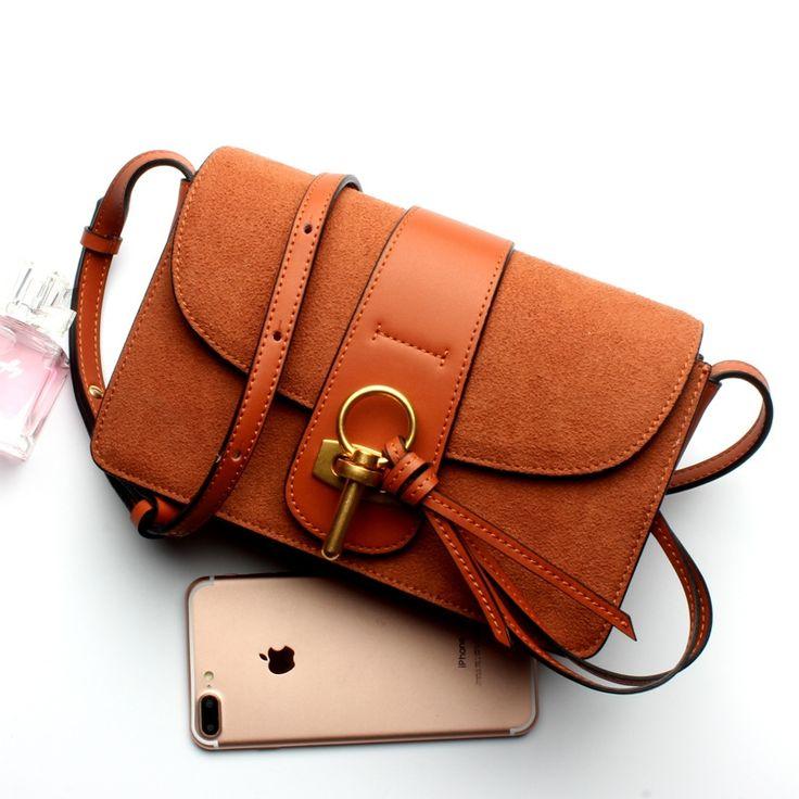 42.82$  Watch here - http://aliefa.shopchina.info/go.php?t=32784305826 - Ellacey 2017 Super Deal Fashion Women Bag Genuine Leather Handbags Crossbody bag Famous Brands Shoulder Bag Laides Messenger Bag 42.82$ #magazineonlinewebsite