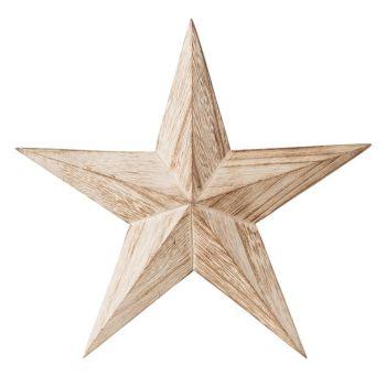 Stjärna Trä 44cm