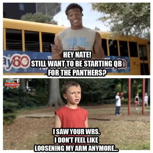 Cam Newton and the play 60 kid part 2