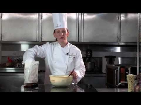 How to temper by microwave, by Callebaut Chocolate - YouTube