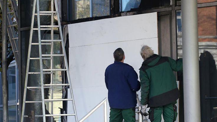 Messehallen in Hamburg: Linke Gruppe verübt Brandanschlag